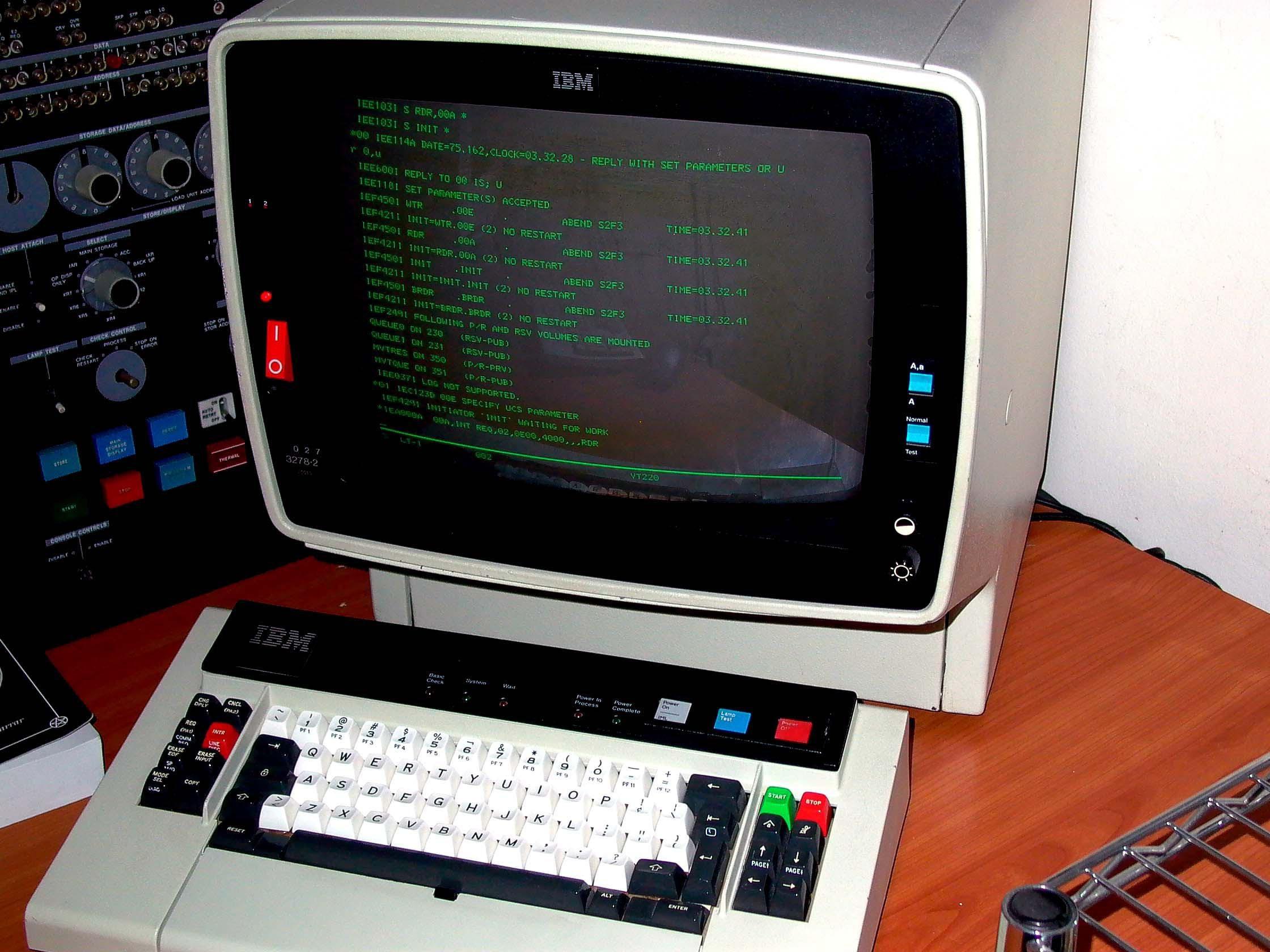 mainframe zOS IBM